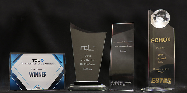 Estes Express Lines Wins Multiple Industry Awards and Citations